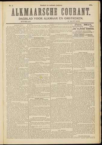Alkmaarsche Courant 1914-01-06