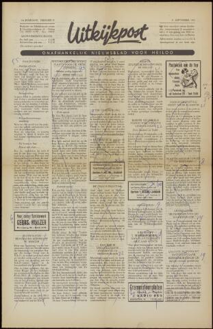 Uitkijkpost : nieuwsblad voor Heiloo e.o. 1958-09-05