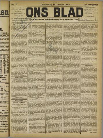 Ons Blad : katholiek nieuwsblad voor N-H 1917-01-18