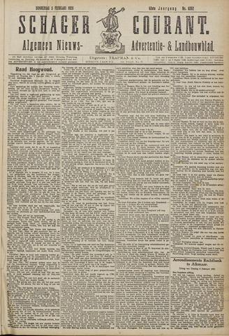 Schager Courant 1920-02-05