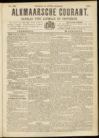 Alkmaarsche Courant 1906-08-30
