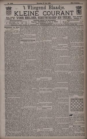 Vliegend blaadje : nieuws- en advertentiebode voor Den Helder 1894-06-27