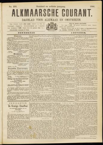 Alkmaarsche Courant 1906-10-04