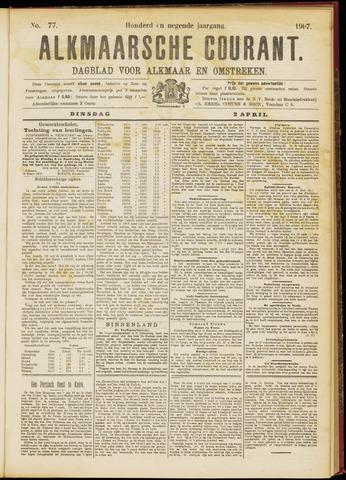 Alkmaarsche Courant 1907-04-02