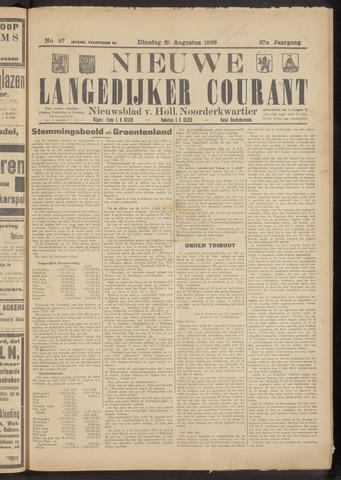 Nieuwe Langedijker Courant 1928-08-21