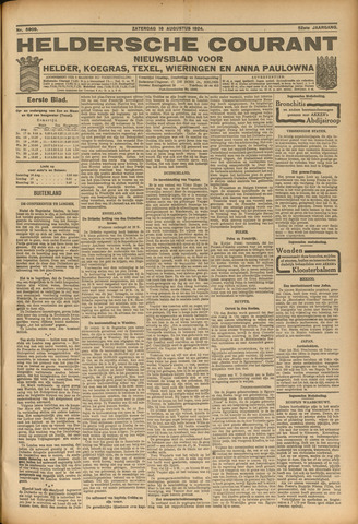 Heldersche Courant 1924-08-16