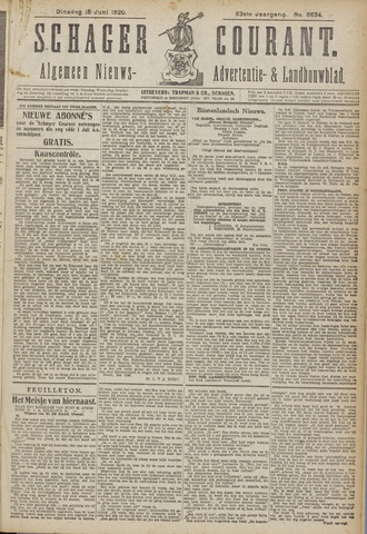 Schager Courant 1920-06-15