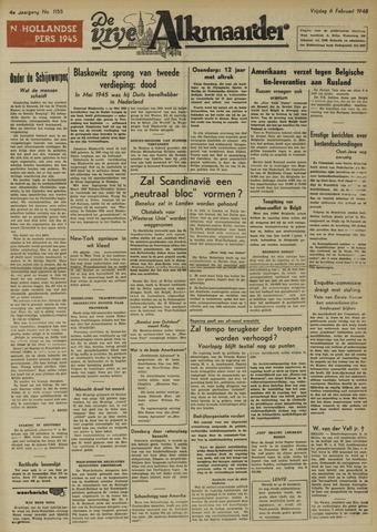 De Vrije Alkmaarder 1948-02-06
