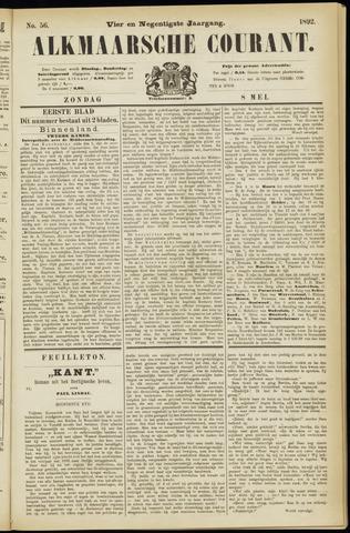 Alkmaarsche Courant 1892-05-08