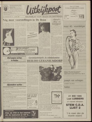 Uitkijkpost : nieuwsblad voor Heiloo e.o. 1986-05-14