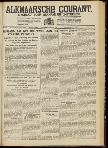 Alkmaarsche Courant 1939-12-13