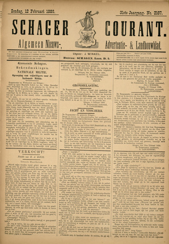 Schager Courant 1888-02-12
