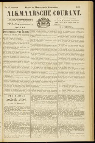 Alkmaarsche Courant 1895-08-11