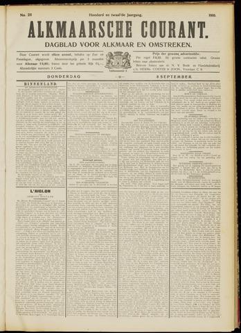 Alkmaarsche Courant 1910-09-08