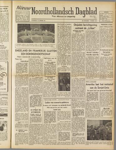 Nieuw Noordhollandsch Dagblad : voor Alkmaar en omgeving 1947-01-16