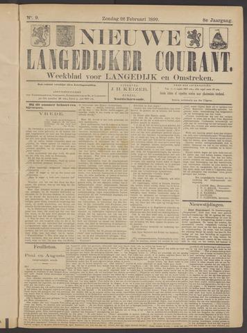 Nieuwe Langedijker Courant 1899-02-26