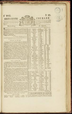 Alkmaarsche Courant 1845-04-28