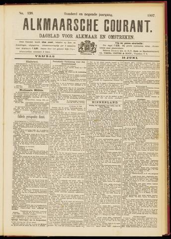 Alkmaarsche Courant 1907-06-14
