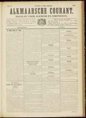 Alkmaarsche Courant 1909-04-05