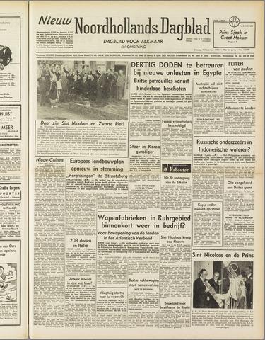 Nieuw Noordhollandsch Dagblad : voor Alkmaar en omgeving 1951-12-04