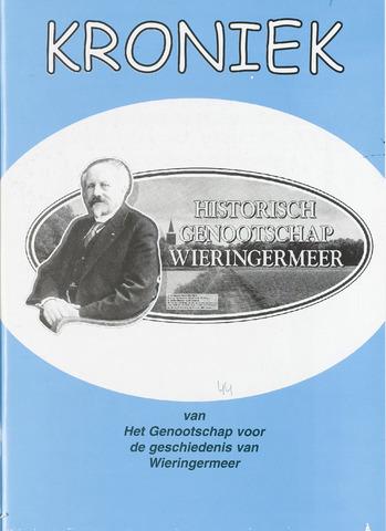 Kroniek Historisch Genootschap Wieringermeer 2006-08-01