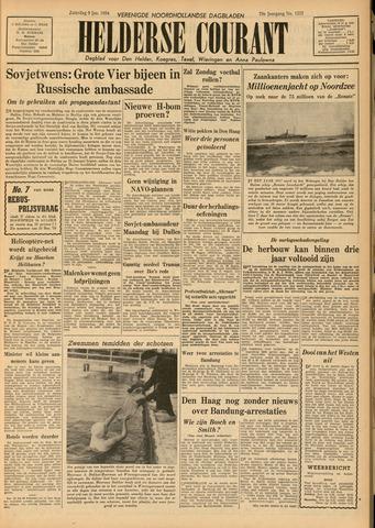 Heldersche Courant 1954-01-09
