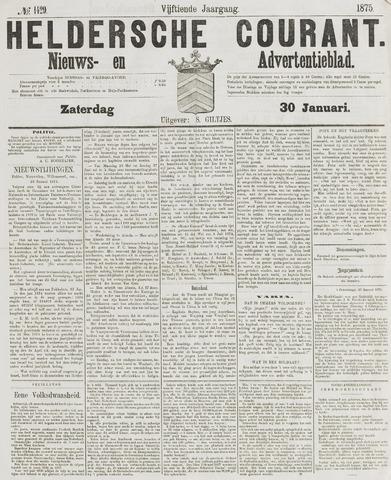 Heldersche Courant 1875-01-30