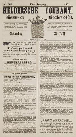 Heldersche Courant 1871-07-22