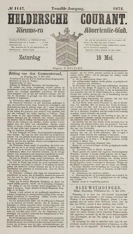 Heldersche Courant 1872-05-18