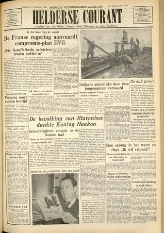 Heldersche Courant 1954-08-14