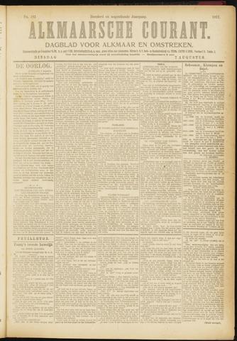 Alkmaarsche Courant 1917-08-07