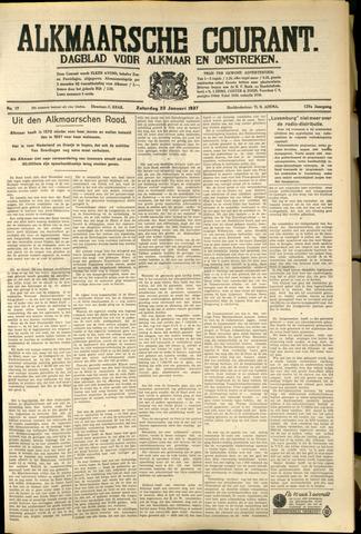 Alkmaarsche Courant 1937-01-23