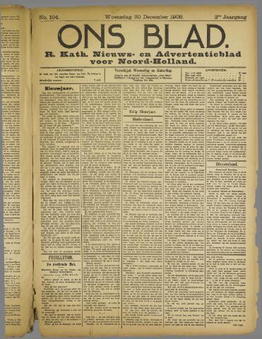 Ons Blad : katholiek nieuwsblad voor N-H 1908-12-30