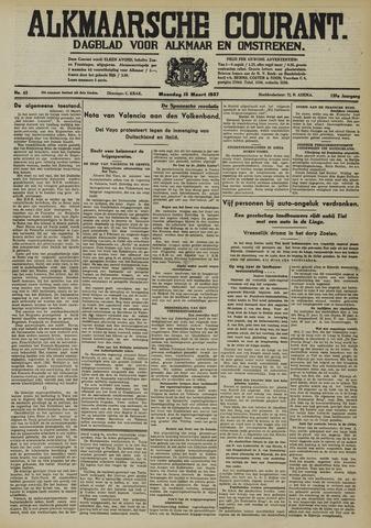 Alkmaarsche Courant 1937-03-15