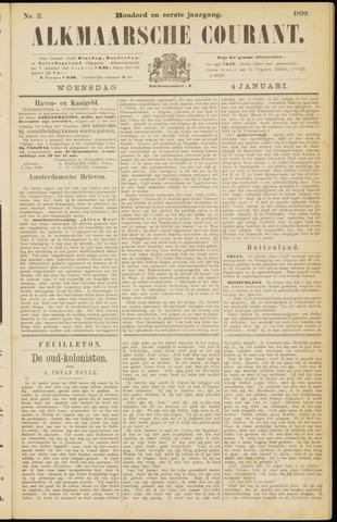 Alkmaarsche Courant 1899-01-04