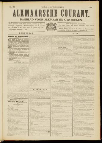 Alkmaarsche Courant 1911-07-13