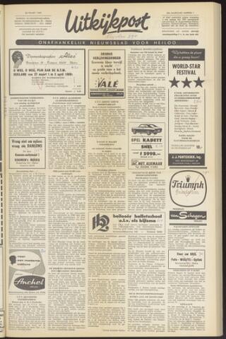 Uitkijkpost : nieuwsblad voor Heiloo e.o. 1969-03-26