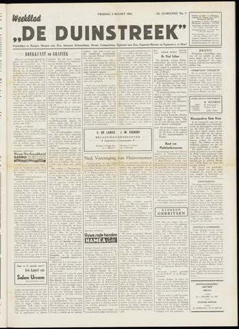 De Duinstreek 1956-03-02