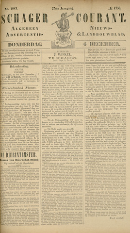 Schager Courant 1883-12-06