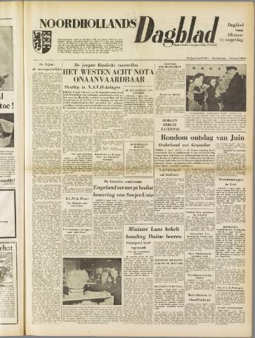 Noordhollands Dagblad : dagblad voor Alkmaar en omgeving 1954-04-02