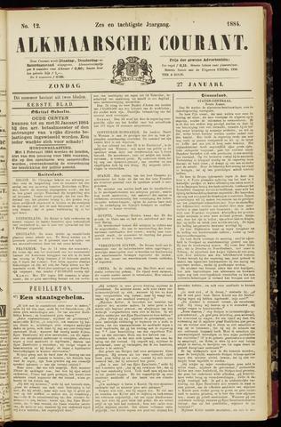Alkmaarsche Courant 1884-01-27