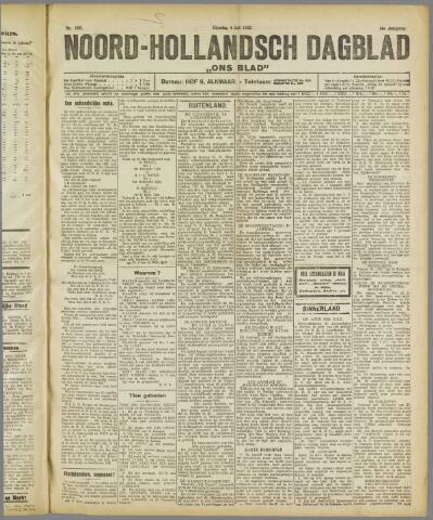 Ons Blad : katholiek nieuwsblad voor N-H 1922-07-04