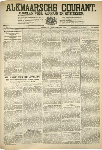 Alkmaarsche Courant 1930-02-18