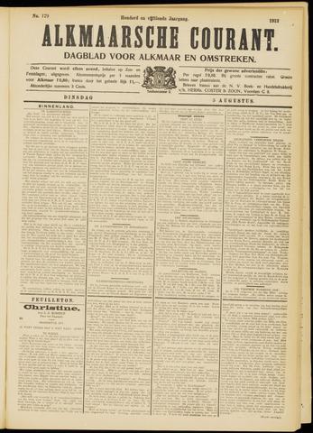 Alkmaarsche Courant 1913-08-05