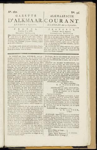 Alkmaarsche Courant 1811-09-09