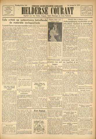 Heldersche Courant 1949-10-26