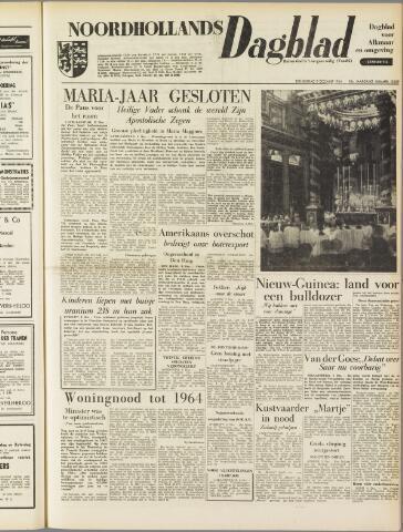 Noordhollands Dagblad : dagblad voor Alkmaar en omgeving 1954-12-09
