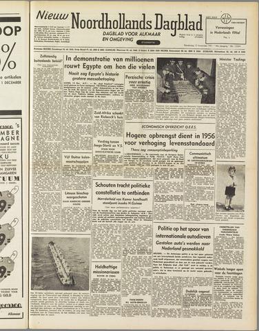 Nieuw Noordhollandsch Dagblad : voor Alkmaar en omgeving 1951-11-15
