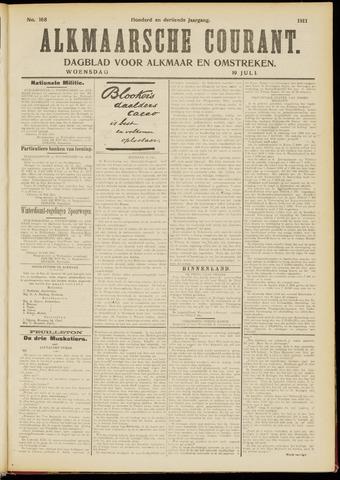 Alkmaarsche Courant 1911-07-19
