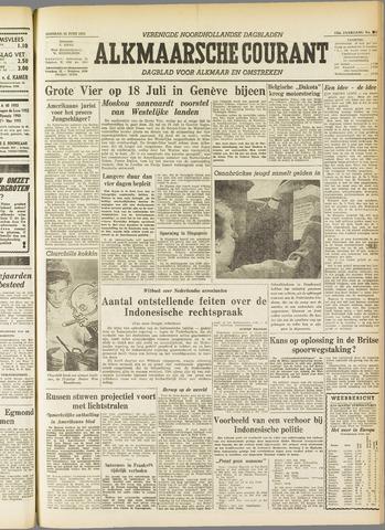 Alkmaarsche Courant 1955-06-14